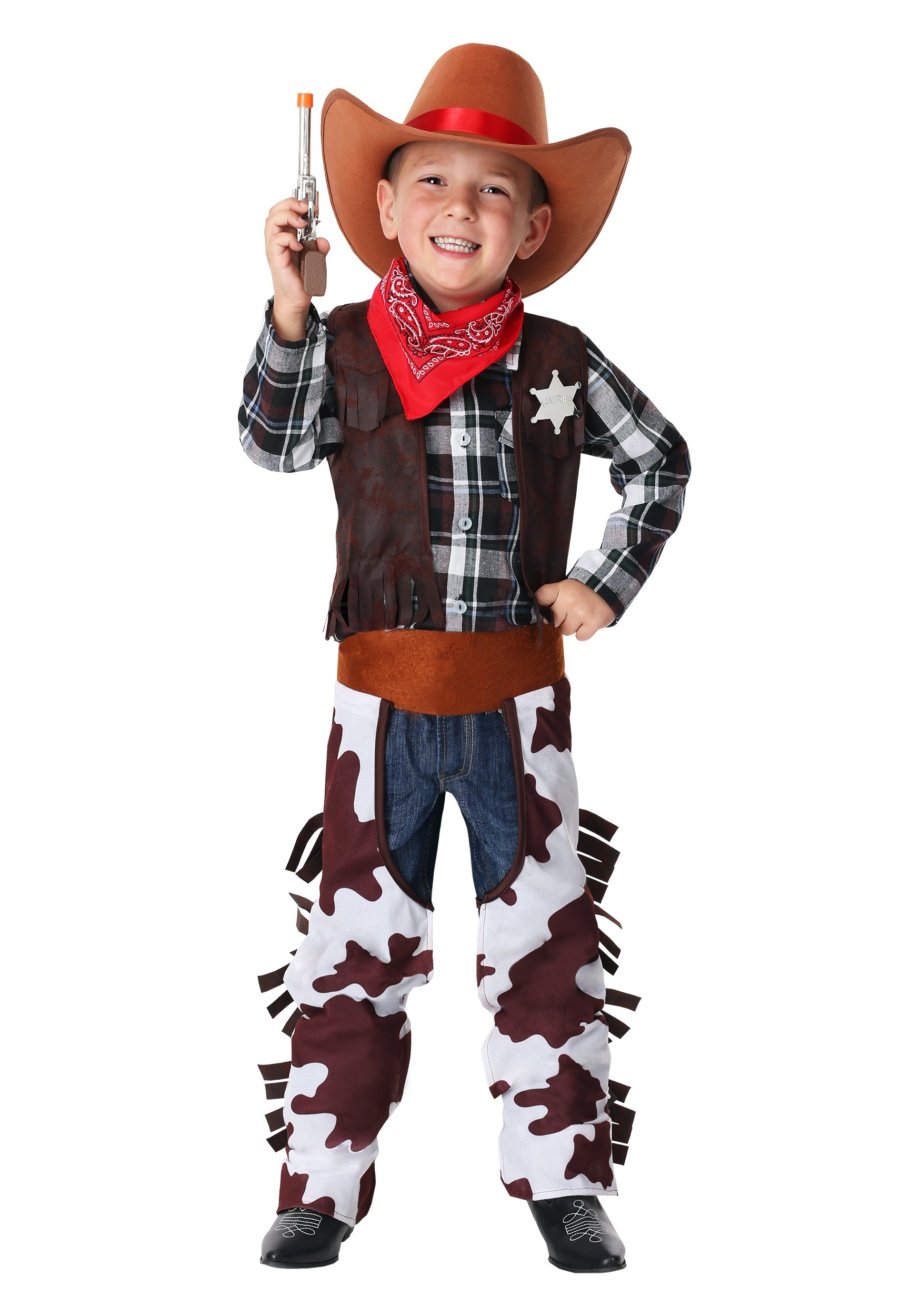 Boy S Wild West Sheriff Costume For Toddlers