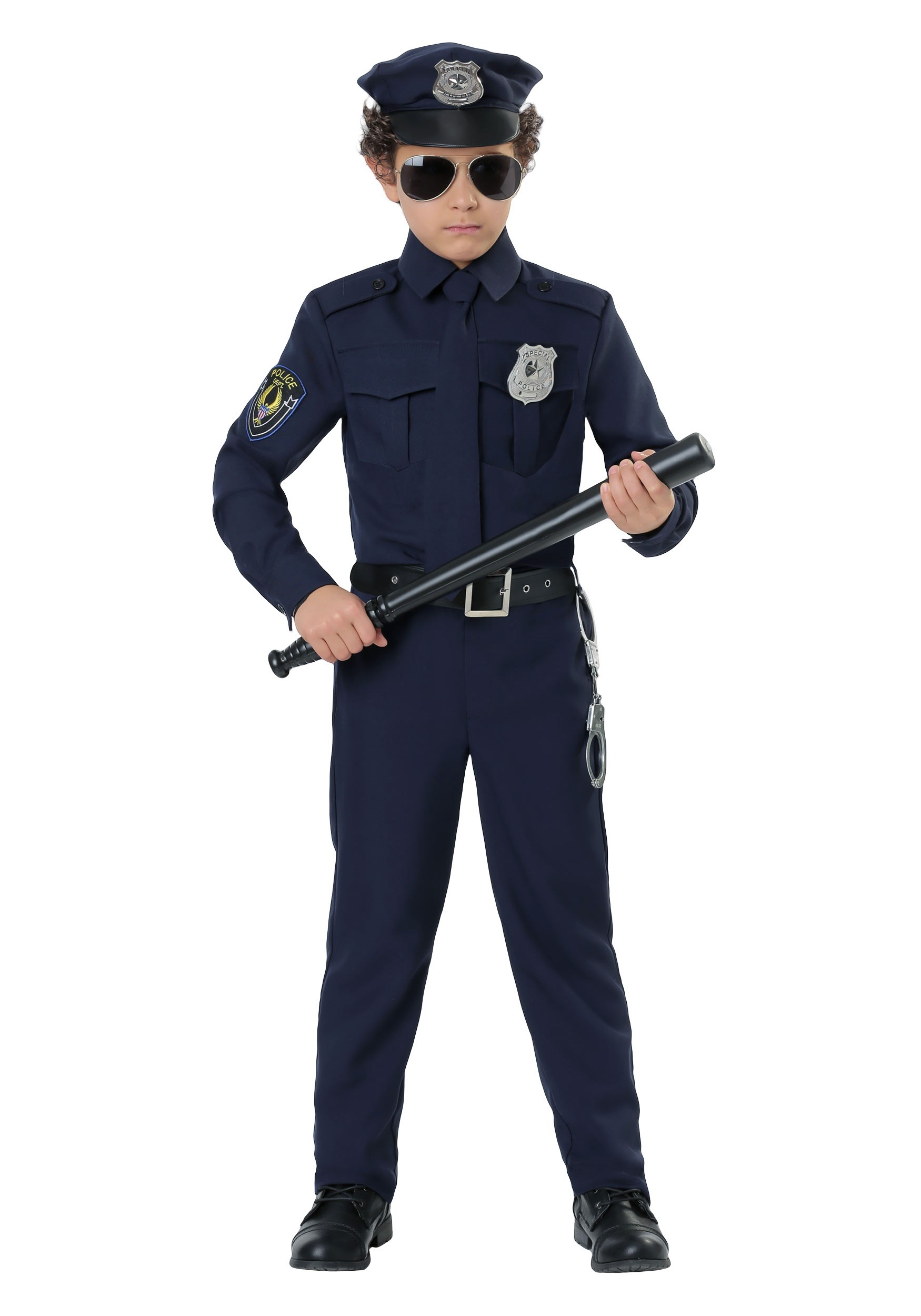 Cop Costume For Toddler