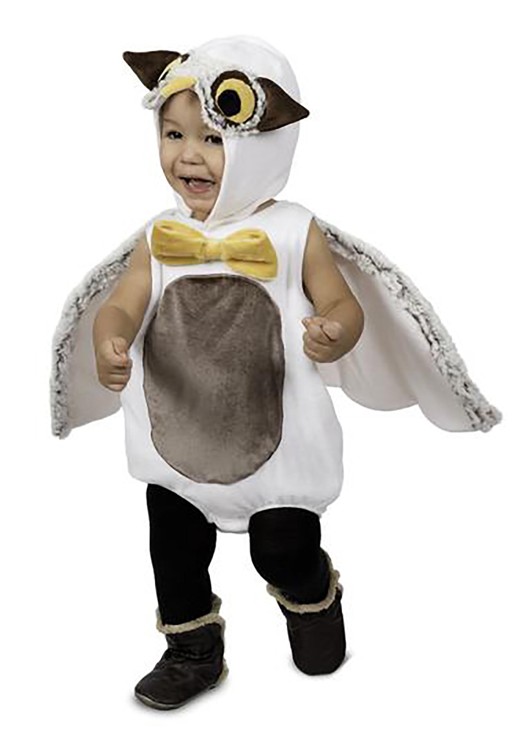 Cozy Felt Owl Mask Halloween Mask Pretend Play Owl Costume