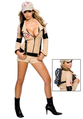 Women's Sexy Ghostbuster Costume - $49.99