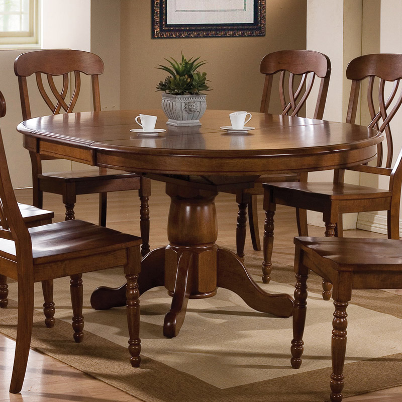 Circle Dining Room Table Leaf