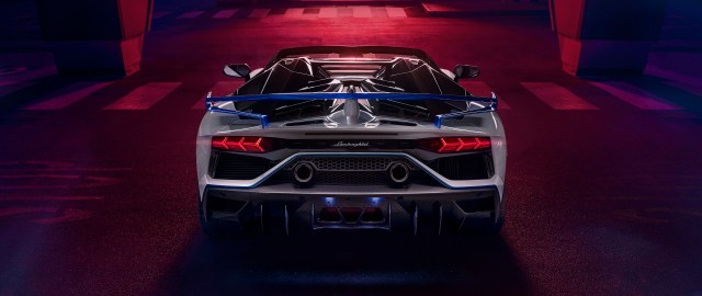 2560x1080 Lamborghini Aventador SVJ Roadster Xago Edition ...