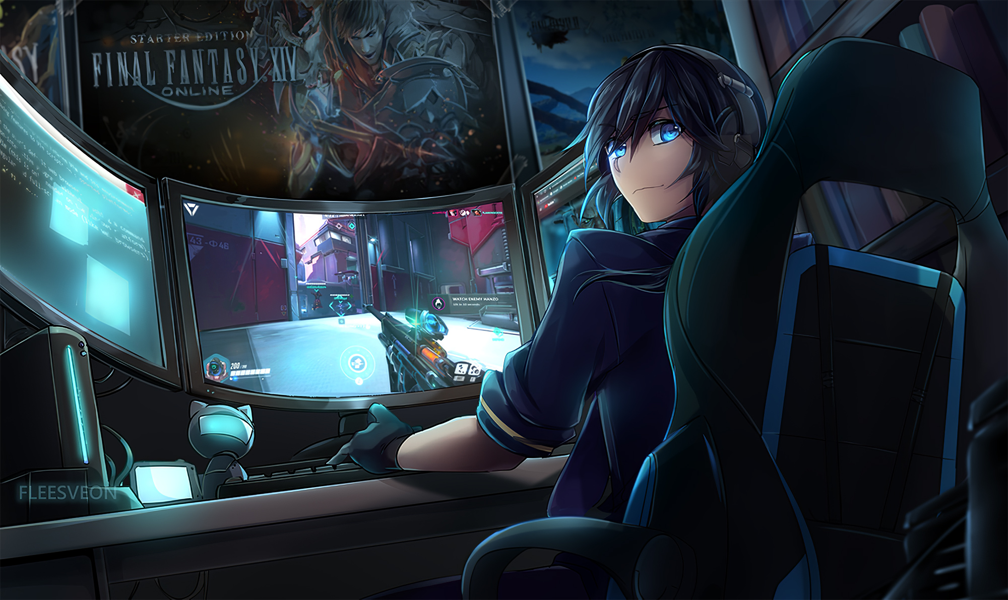 Anime Gaming Boy Hd Anime 4k Wallpapers Images Backgrounds Photos And Pictures