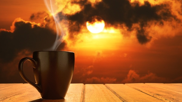 Morning Coffee Sun Rising Hd Others 4k Wallpapers