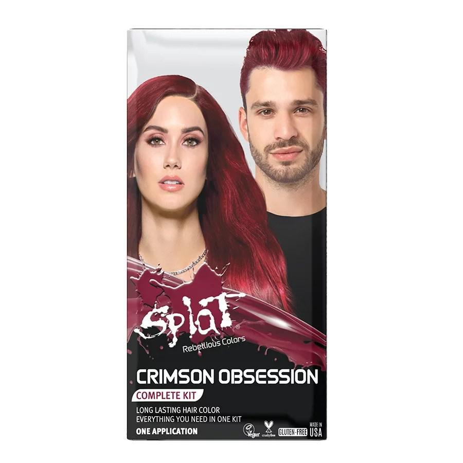 Splat Rebellious Colors Purple Desire Complete Kit Shop Hair Color At H E B