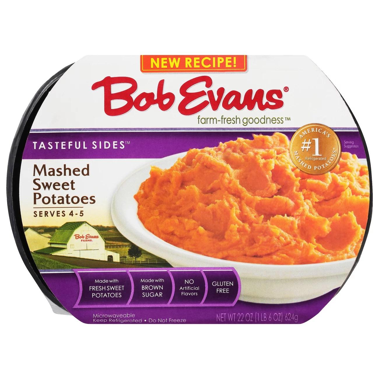 bob evans farm fresh goodness mashed sweet potato