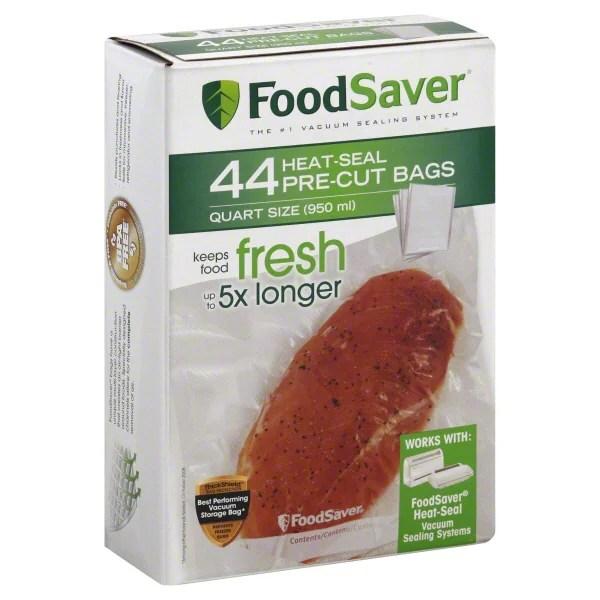 foodsaver quart vacuum seal bags