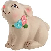 Destination Holiday Sitting Bunny Decor