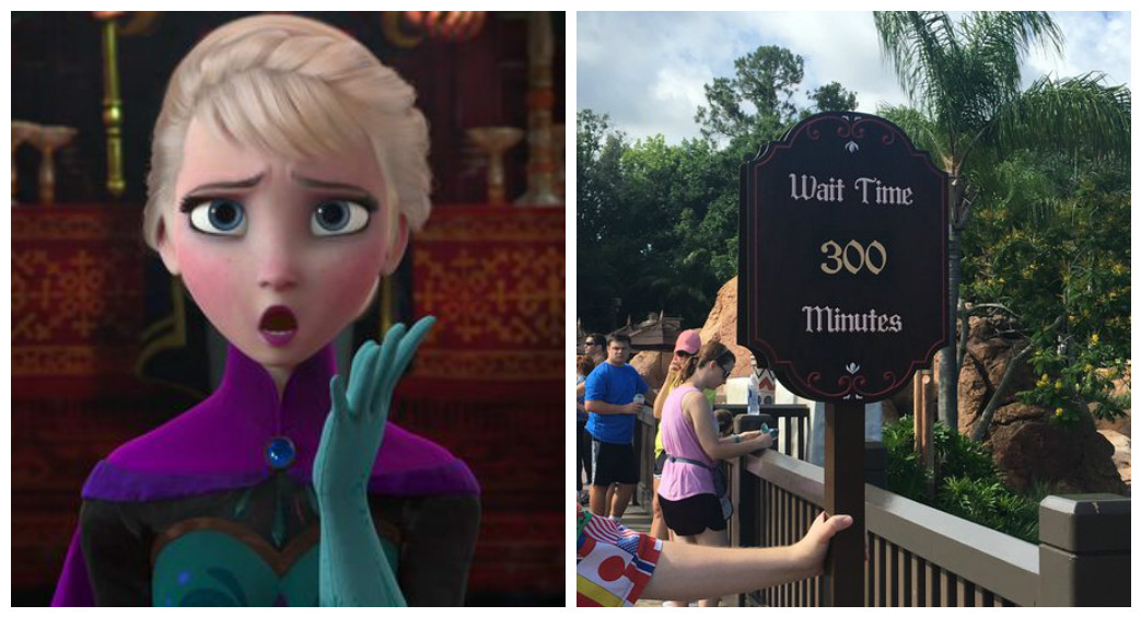 The New Frozen Ride At Disney World Is Open And Has A
