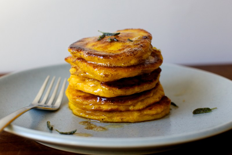 winter-squash-pancakes-with-crispy-sage-and-brown-butter