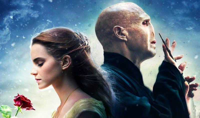 """Beauty and Lord Voldemort"" is the ""Beaty and the Beast""/""Harry Potter"" mashup you never knew you needed"