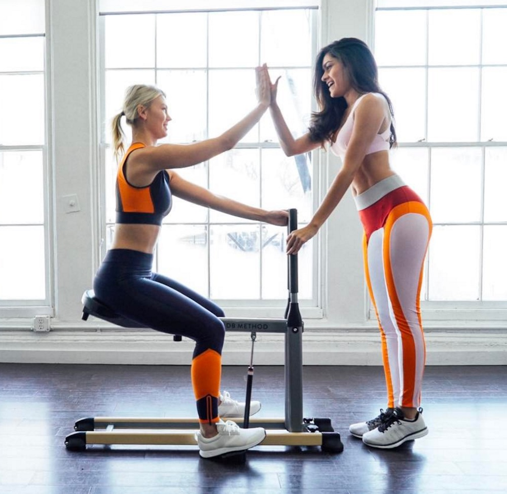 The DB Method Is A Workout Machine Youll Want To Use