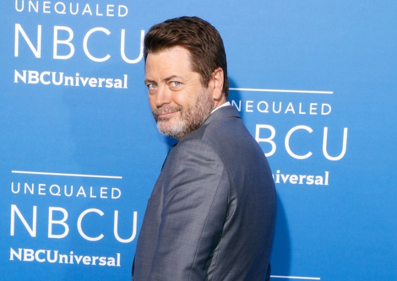 Nick Offerman has some out-of-character advice for surviving 2017
