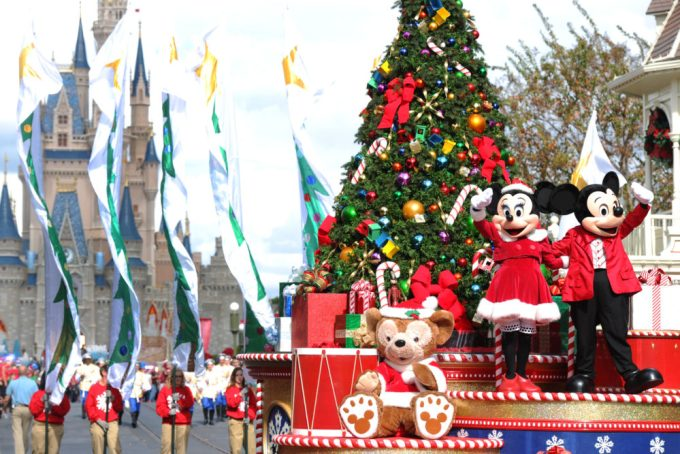 it is october 16th and disney world just put up some christmas