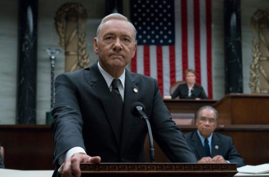 """House of Cards"" might do something drastic and completely write out Kevin Spacey's Frank Underwood"