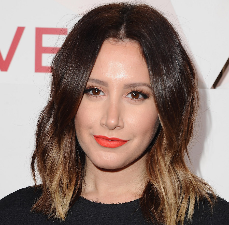 Ashley Tisdale Posted A Red Carpet TBT From The 2000s