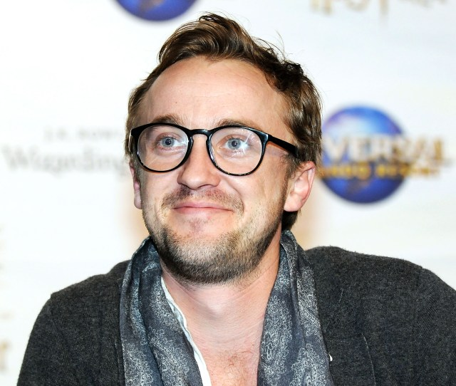 This Realization Recently Hit Us Like A Bludger To The Face Tom Felton Looks Like A Hipster Version Of The Boy Who Lived