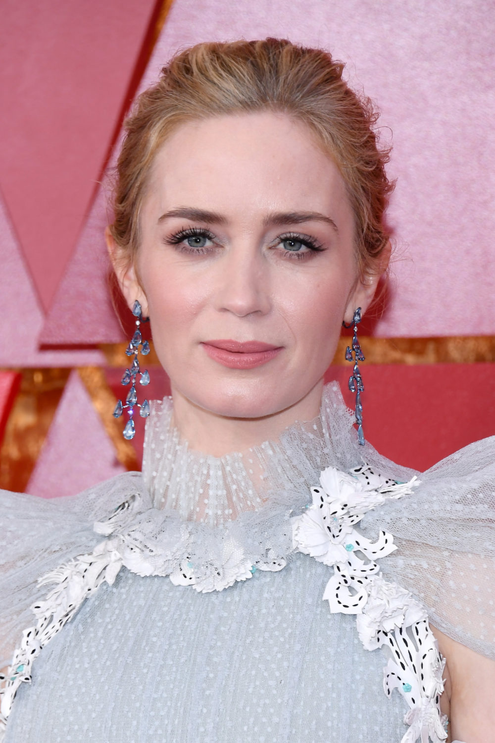 Emily Blunt Wore Mary Poppins Inspired Gown To Oscars