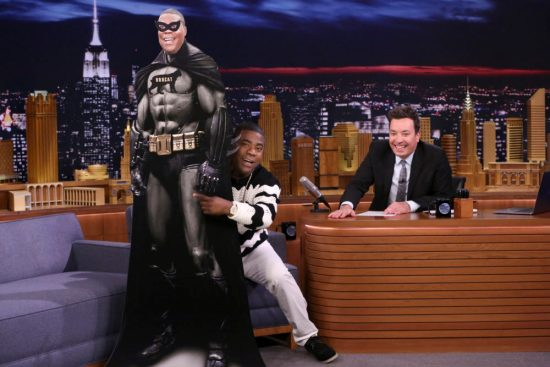 """Tracy Morgan spoofed """"Black Panther"""" with """"Black Bobcat,"""" and we're anxiously awaiting a crossover movie"""
