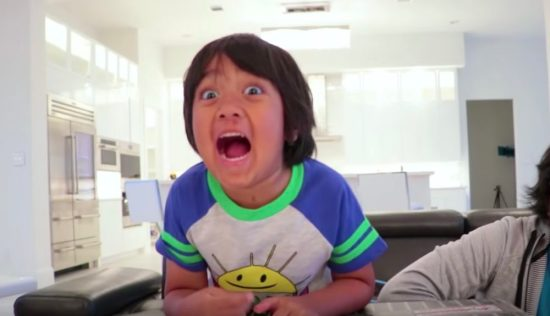 YouTube's top earner is a 7-year-old who made $  22 million this year—and we need a minute