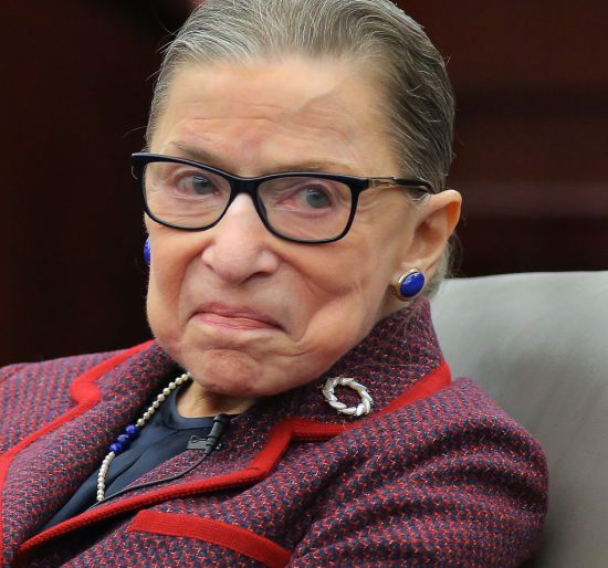 Ruth Bader Ginsburg speaking at law university