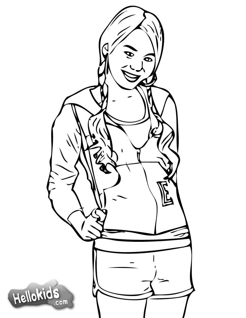 High School Musical Coloring Pages Coloring Pages Printable