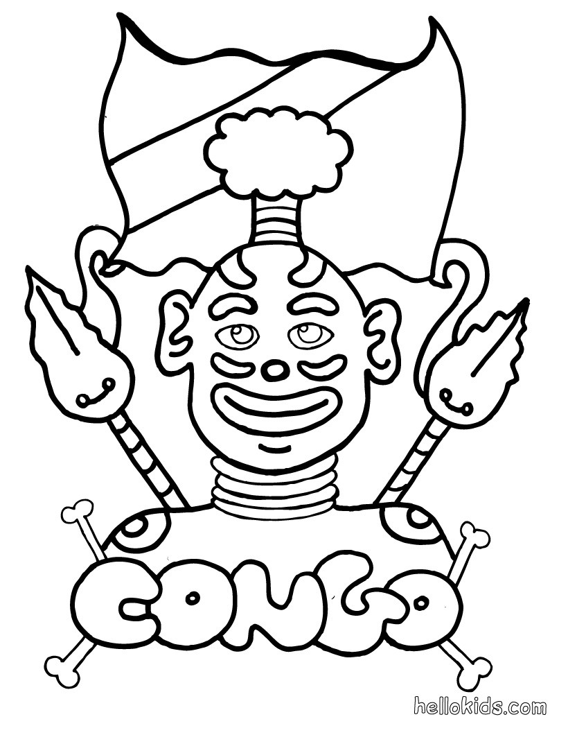 Africa Coloring Pages Coloring Pages Printable Coloring Pages