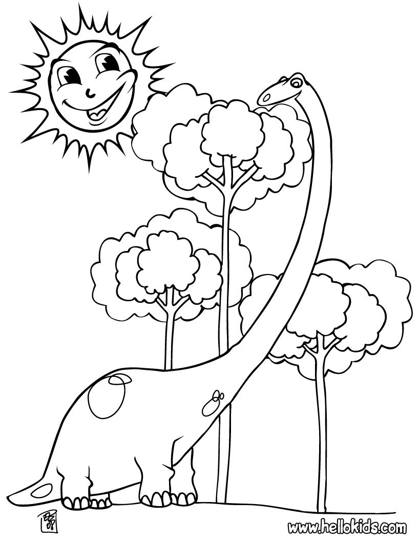 Dinosaur Coloring Pages 87 Free Prehitoric Animals Coloring