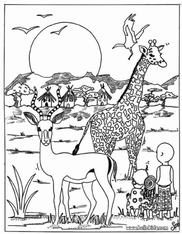 animal coloring # 15