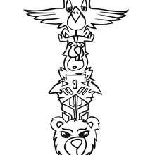 indian coloring pages indian head