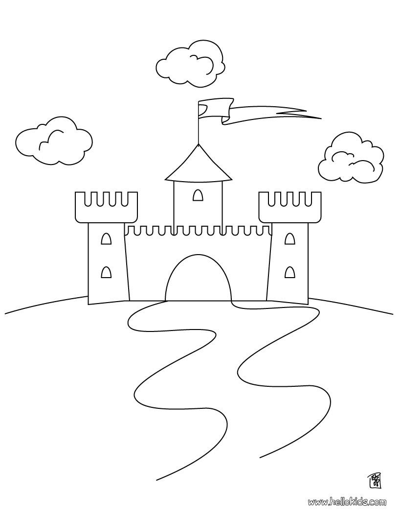 fairy castle coloring pages fairy castle