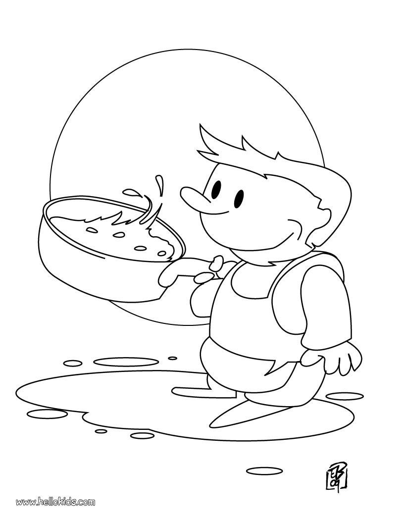 little chef coloring pages  hellokids