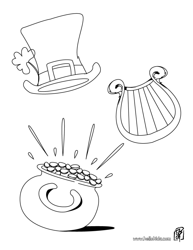 pot of gold coloring page source d30 jpg