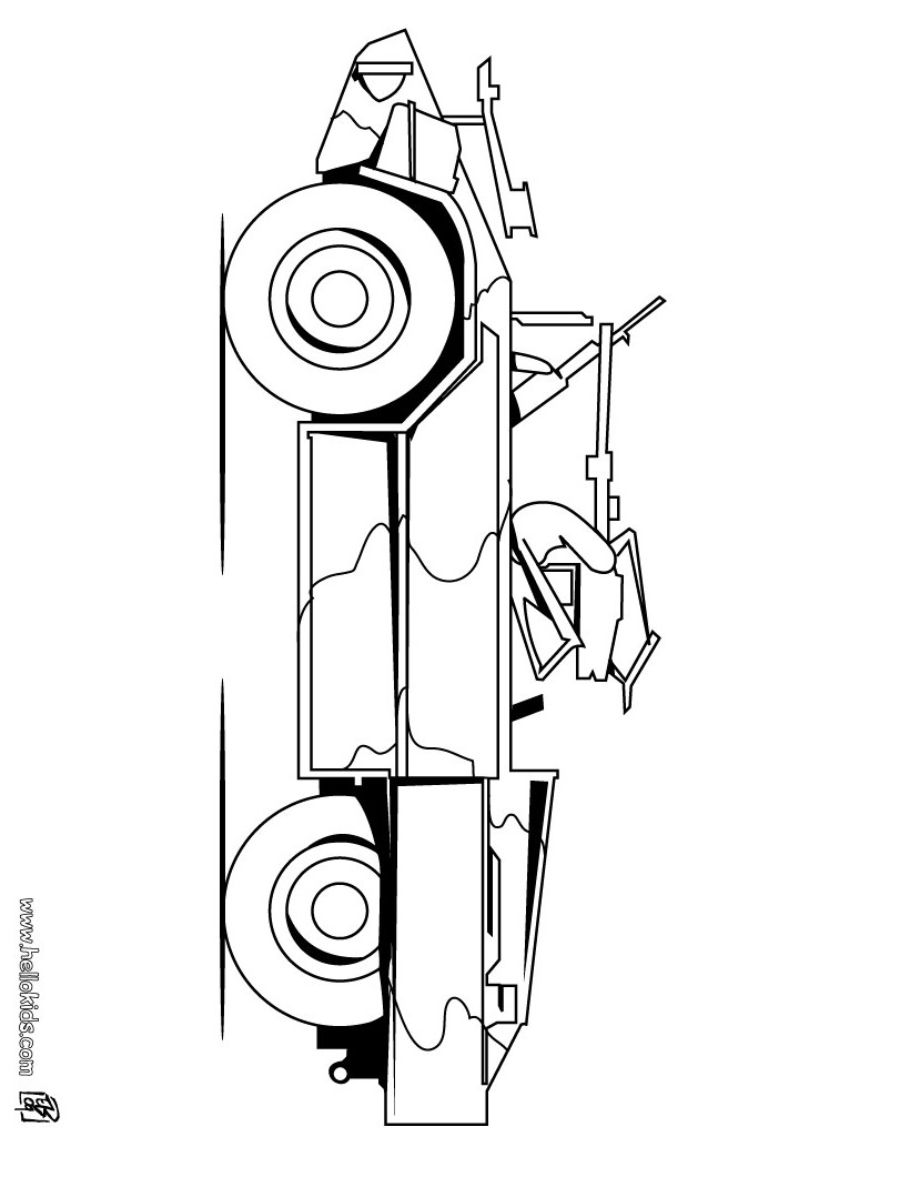 army vehicles coloring pages army jeep