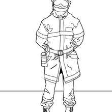 fireman coloring page # 13