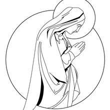 mary coloring pages # 28