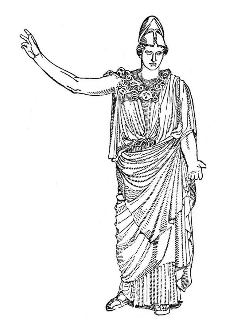 greek goddesses coloring pages goddess artemis