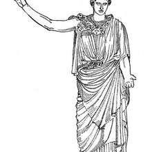 greek goddesses coloring pages goddess hera