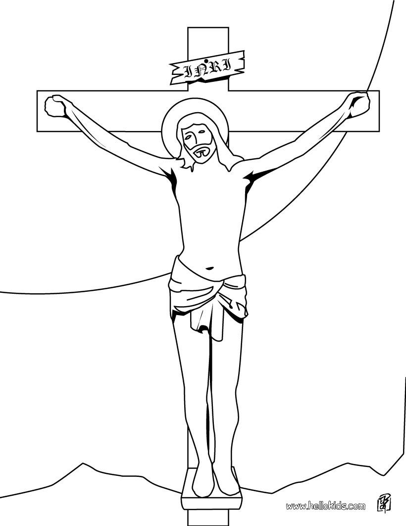 religious on the cross