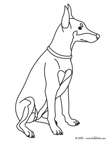 dog coloring pages cute dog