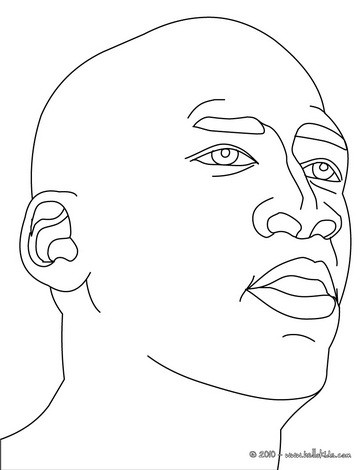 Michael Jordan Logo Coloring Pages. basketball shoes