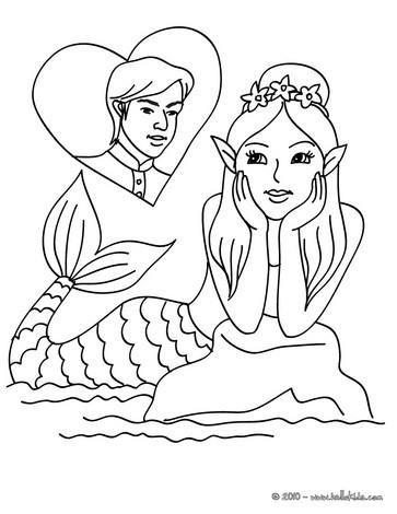 mermaid coloring pages 43 fantasy mermaid world coloring book