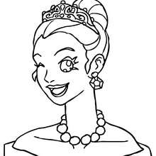 Party Coloring Pages A Party For Ariel Coloring Page Free