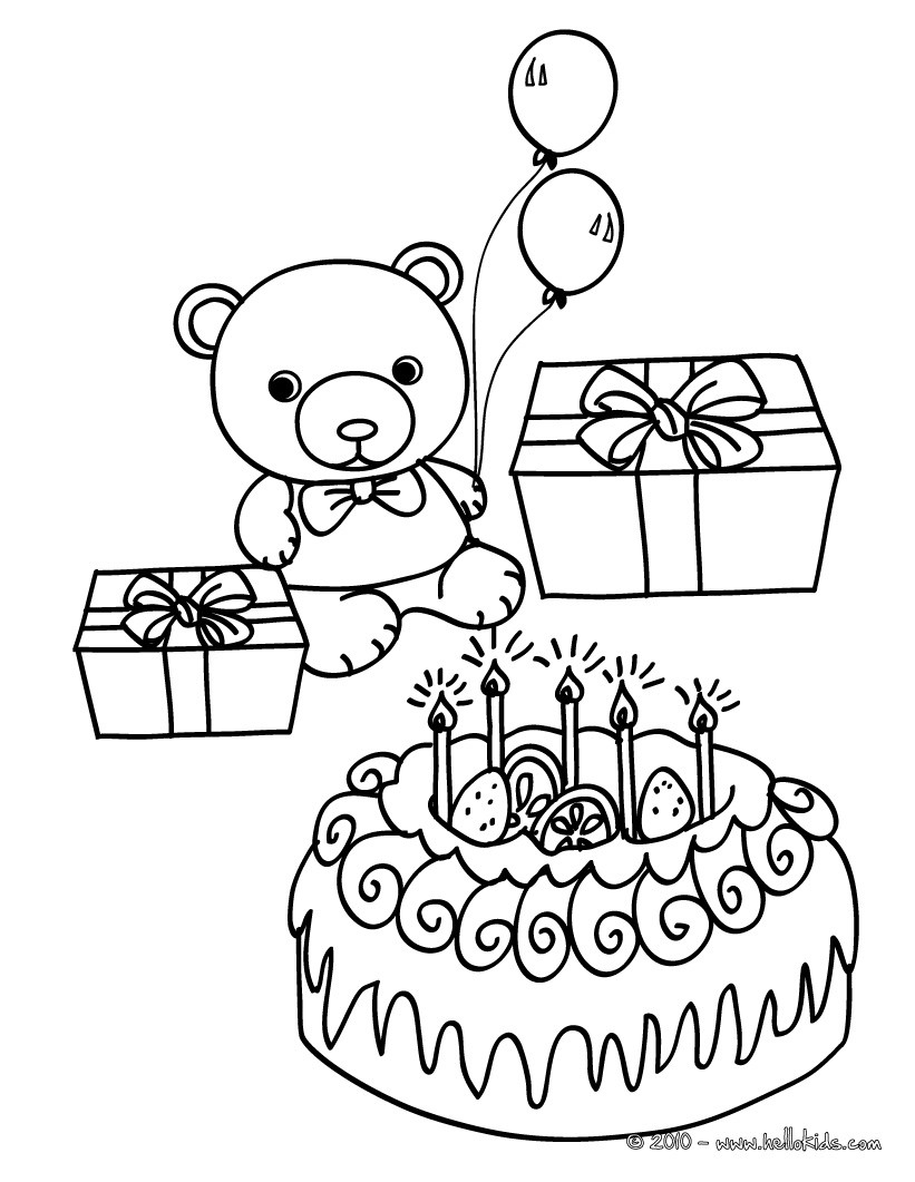 Teddy Bear Clipart Black And White - Teddy Bear Coloring Page ... | 1061x821