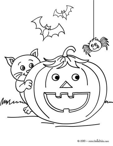jack o lantern pumpkins coloring pages smiling pumpkin with