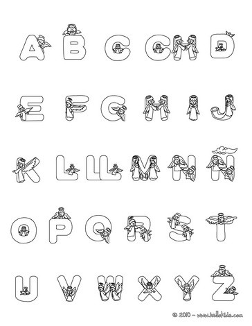 christmas spanish abc coloring pages christmas angels spanish