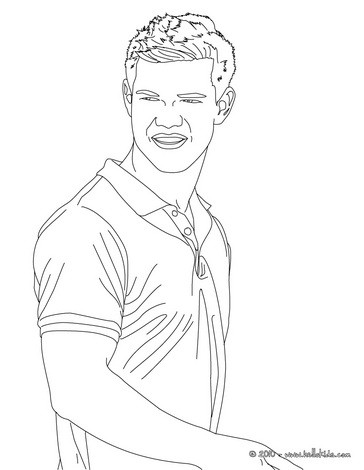 taylor lautner coloring pages taylor lautner twilight