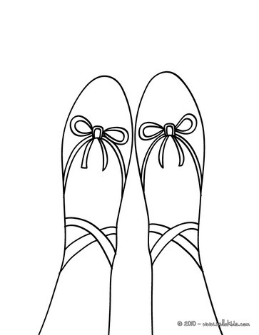 dance coloring pages beautiful ballerina