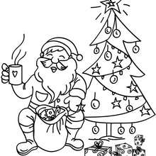 coloring pages of santa claus # 10