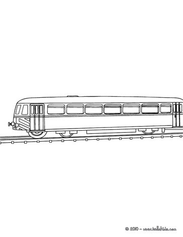 train coloring pages old rail car
